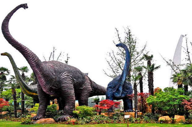 常州恐龙园:中华常州恐龙园5A级景区介绍