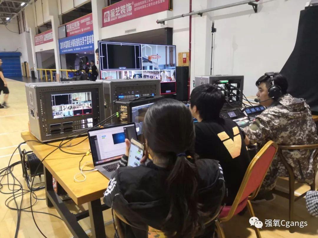 Blackmagic Design助力杭州富阳区机关男子篮球赛直播