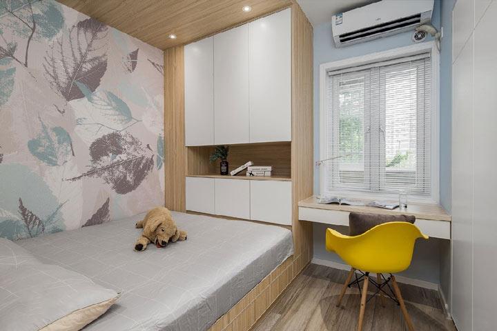 星河国际装修效果图:三室北欧极简风格