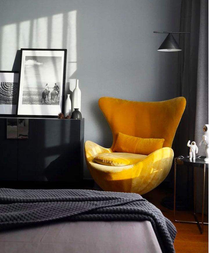 华润国际装修效果图:三室现代简约风格
