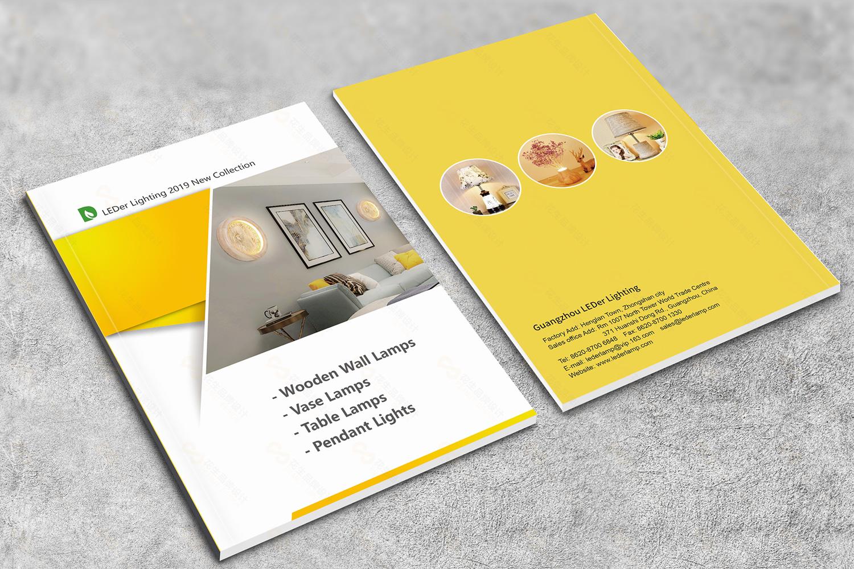 灯具产品画册设计