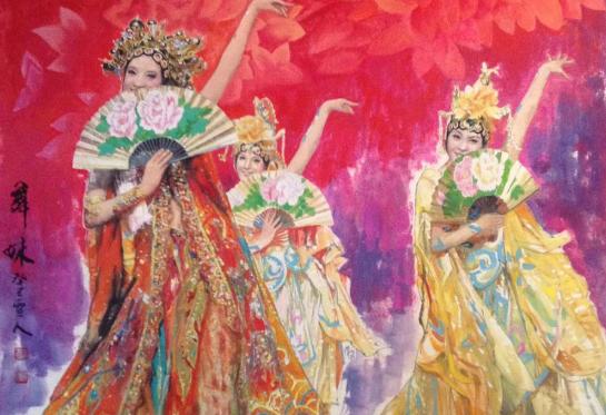中國當代著名畫家——陳艷梅的藝術世界