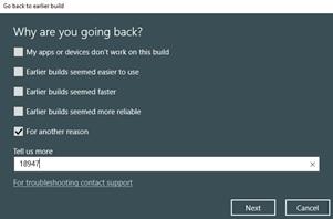 微软误发Win10 Build 18947更新:Slow和RP通道可回滚的照片 - 6
