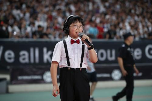 """听障儿童感恩献唱国际冠军杯,康宝莱""""天使听见爱""""见证奇迹"""