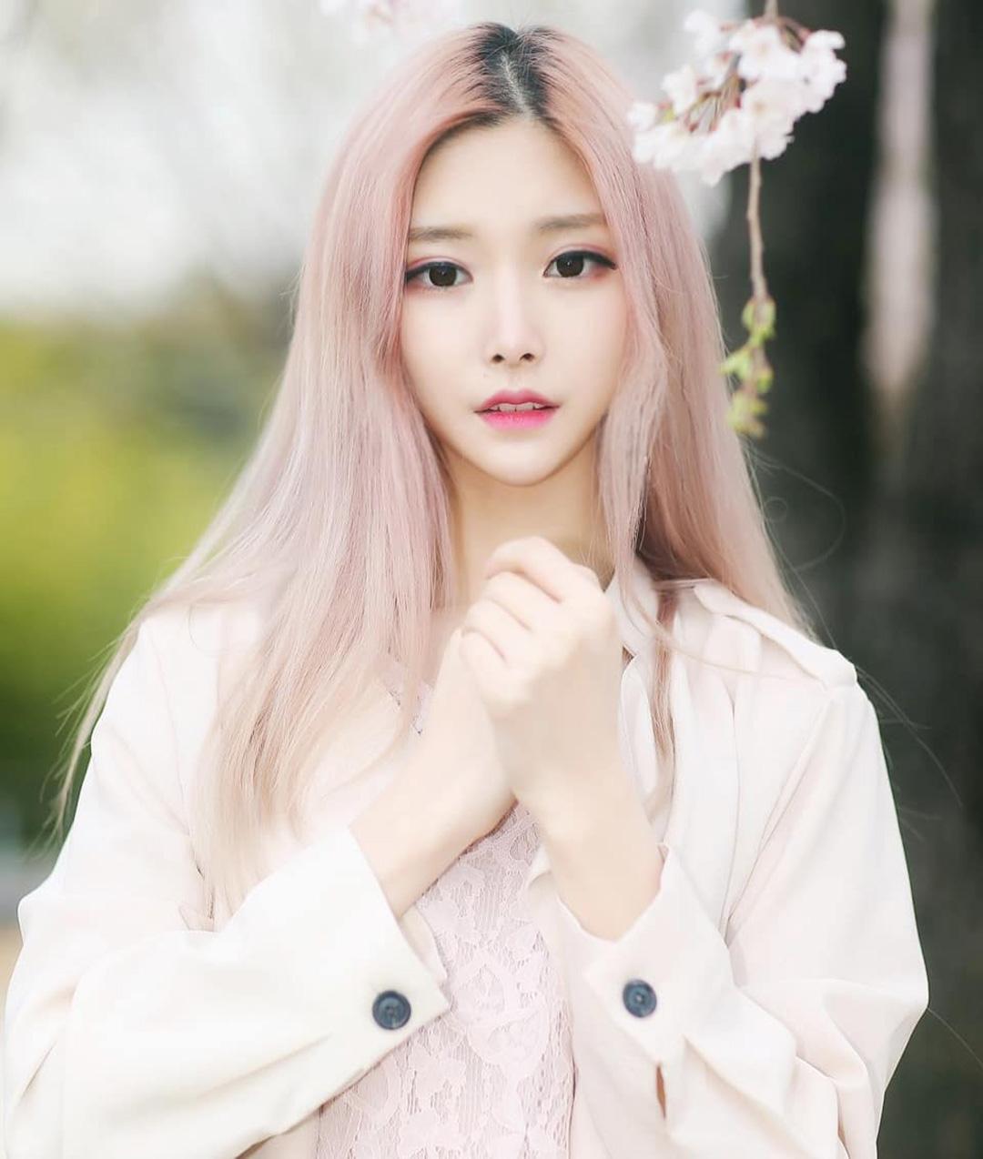 韩国美女模特,清秀佳人,女神合辑一35张