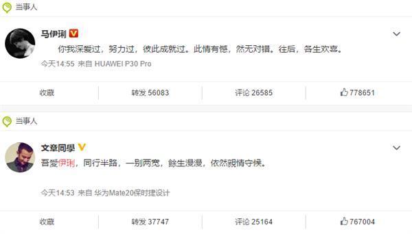 文章马伊俐离婚 网友:这是华为Mate、P系列的分别的照片 - 2