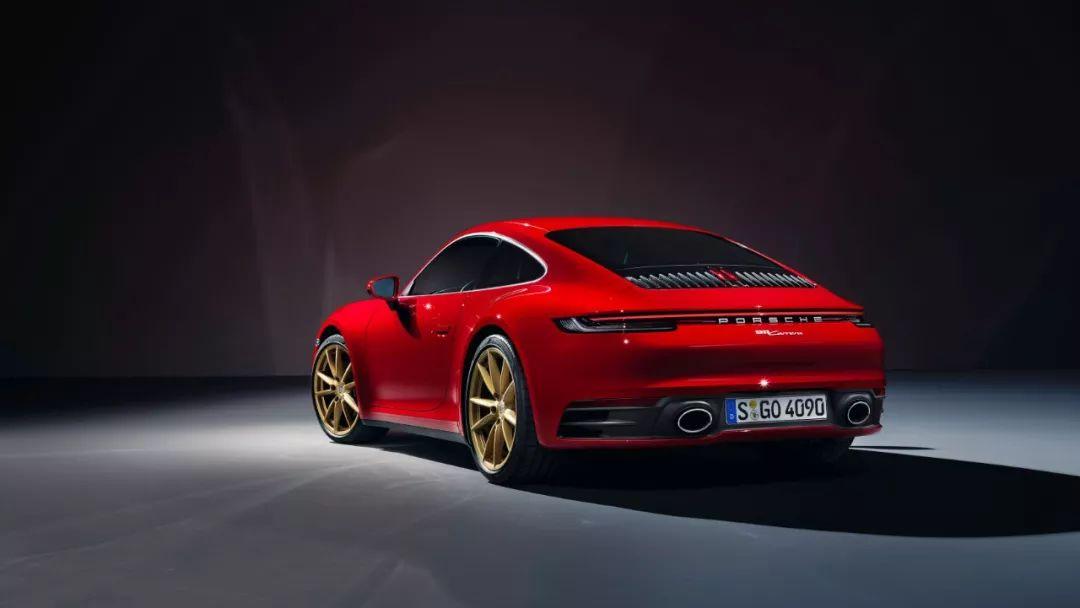最便宜的新911来了:保时捷992入门级车型官图发布的照片 - 8