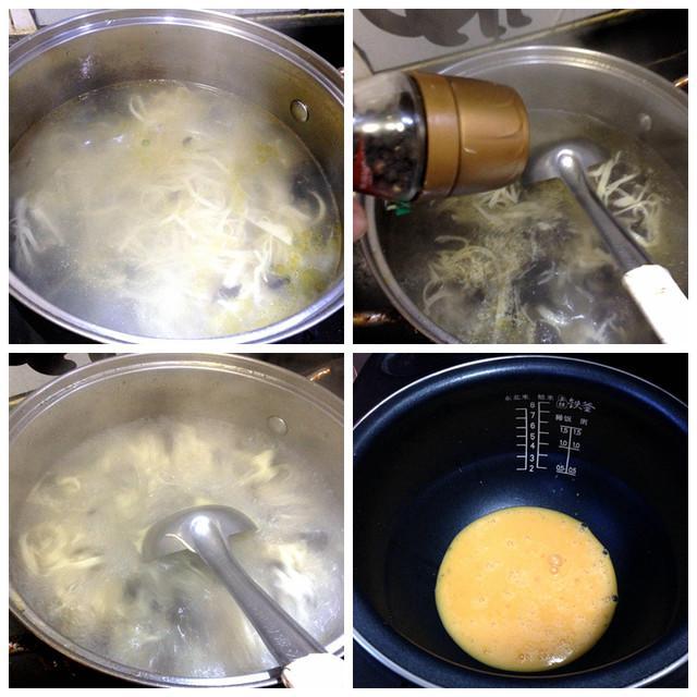 撒汤的做法窍门(早餐鸡蛋撒汤的做法)