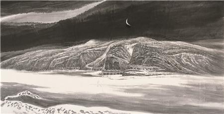 着名画家李勇逸与他的山水画艺术