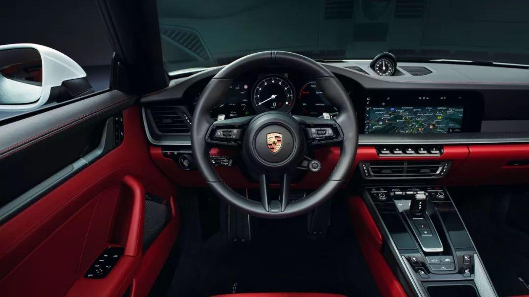 最便宜的新911来了:保时捷992入门级车型官图发布的照片 - 2