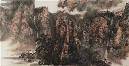 当代名家林枫和他的国画艺术