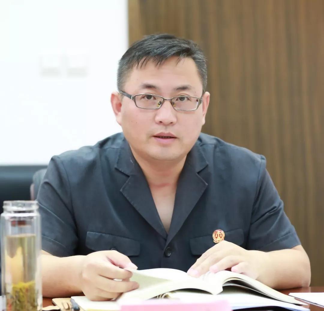 盐都法院召开2019年度第7次党组中心组学习会