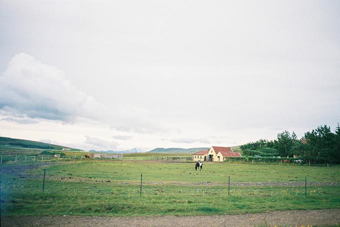 农场主的房子和大院子