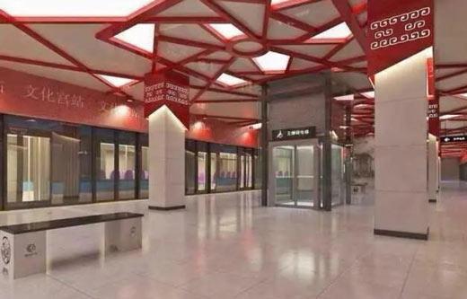 常州地铁文化馆站内设计感觉很压抑,为什么?