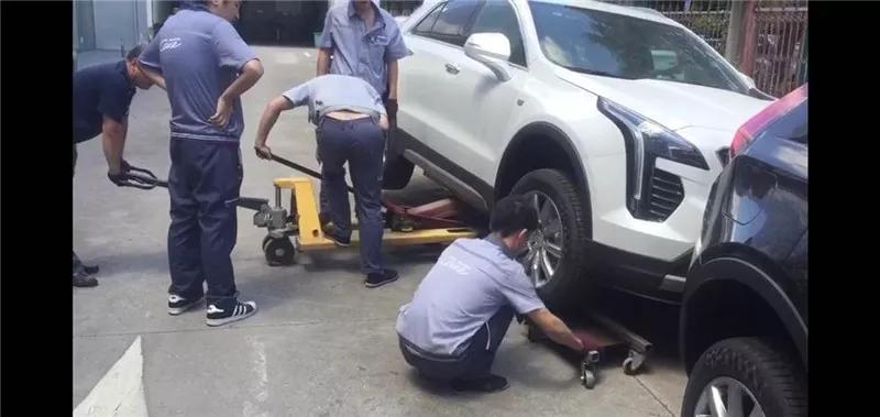 """台州东泰别克卸新车轮胎,鹏城凯迪拉克:""""简直是黑恶势力团伙!"""""""