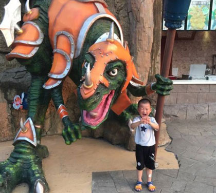 常州恐龙园什么时候评为5A级景区的?