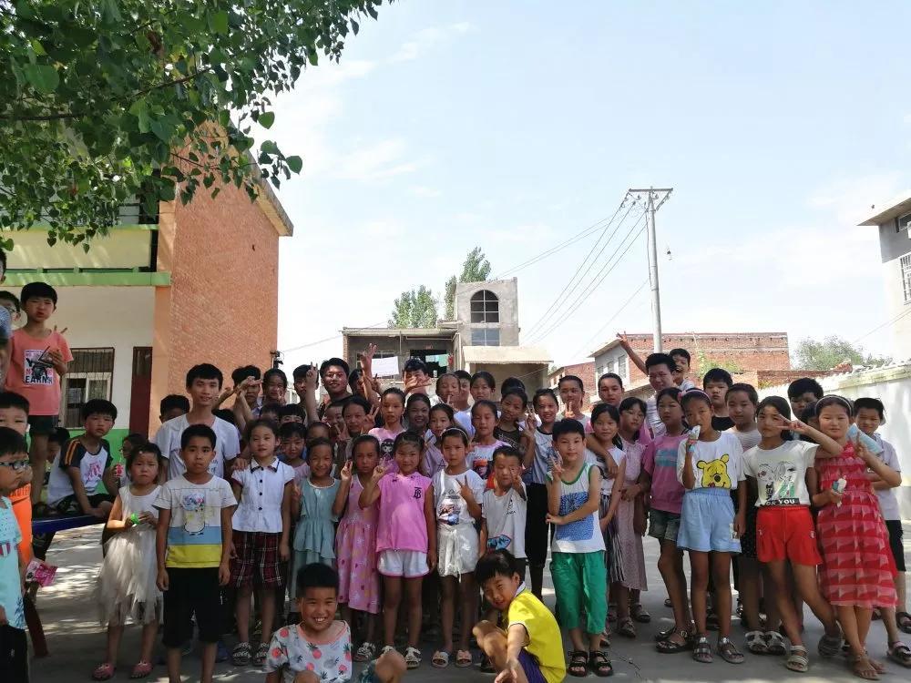 暑期支教:让梦想之花盛开在山村孩子们的心田