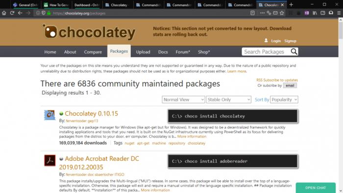 软件包管理工具选Scoop还是Chocolatey?的照片 - 3
