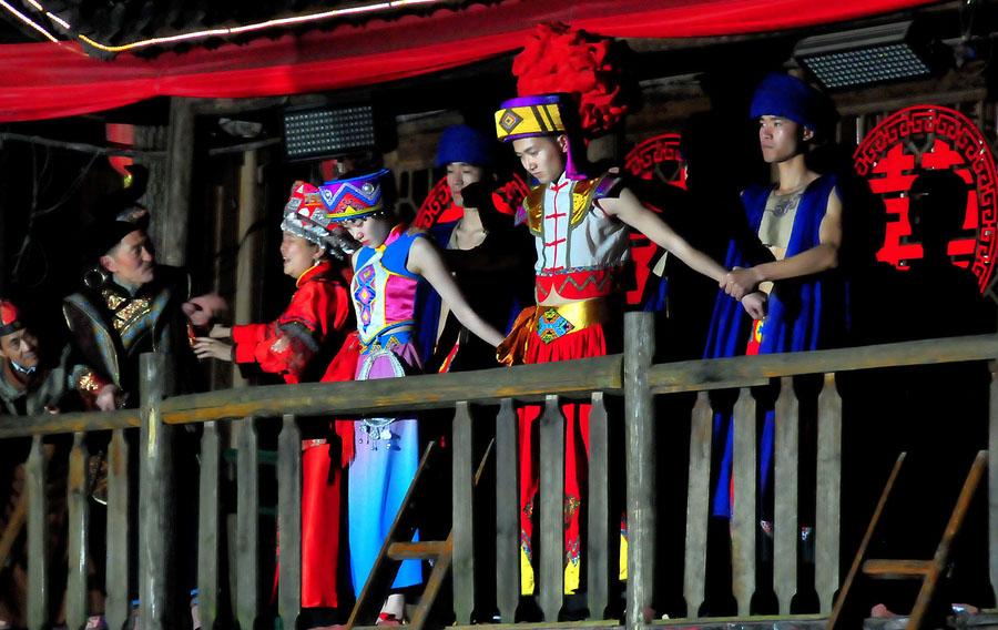 恩施刘伯温四肖中特料2018哪些免费的表演秀需要赶场,这些都是恩施多元文化的融合