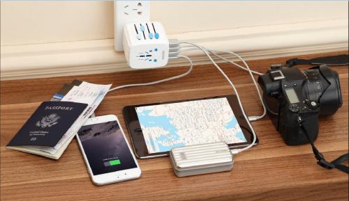 Passport通用转换插座——出差旅行必备的充电神器