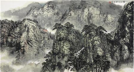 山水有真情·尽在图画中:着名画家林枫