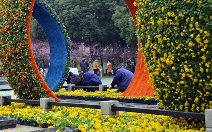 """红梅公园享有""""常州第一园林""""的美誉,曾获得""""中国人居环境奖"""""""