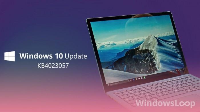 微软重发KB4023057更新:为升级Win10 v1903做准备的照片 - 1