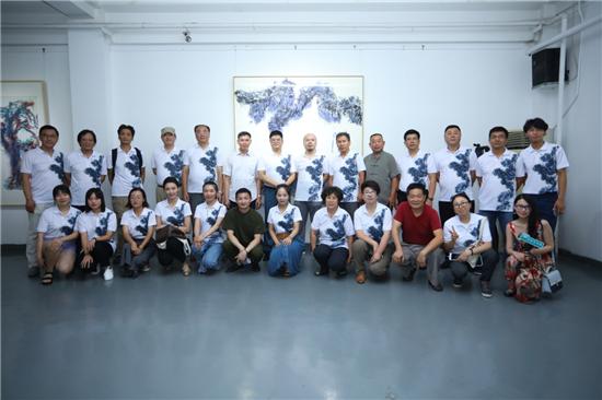 王清州2019水墨作品个展在京举行