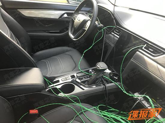 江淮A432车型内饰谍照曝光 预计四季度上市