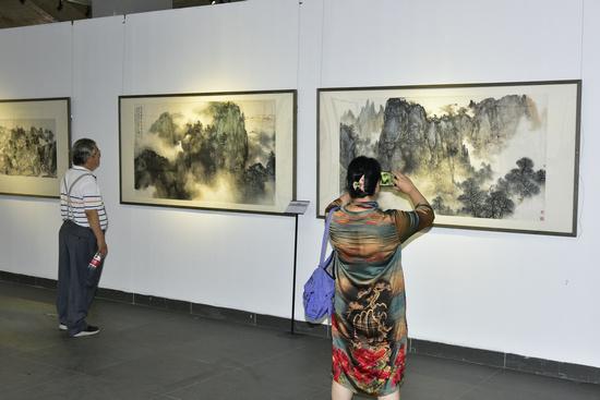 以心化境――2019当代中国画名家写生作品展在京隆重开幕