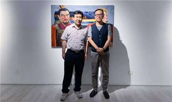 4人4色―我们的故事2019中韩艺术交流展在作者画廊开幕