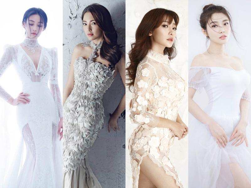 世界四大性感女神  viann  zhang yuqi  liu yan (actress)  raquel