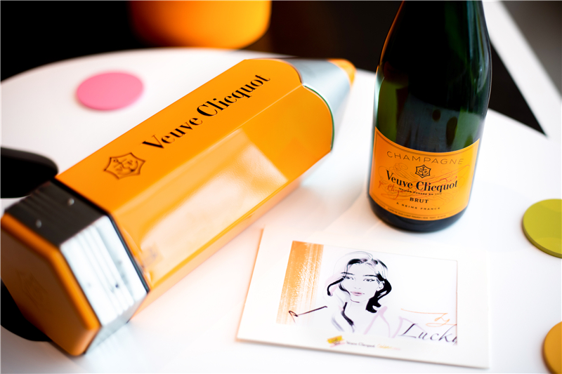 画出你的彩色夏天 凯歌香槟Colorama幻彩画笔特别版全新上市