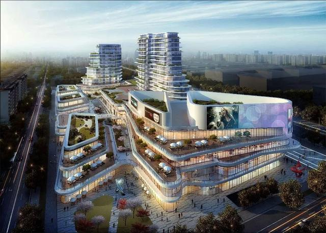 常州又一商业综合体:凤凰新城传统商业格局将被重构