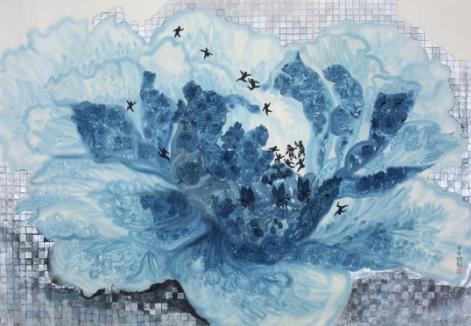 卢诗韵:中国当代画家,画如其人,本真而率性
