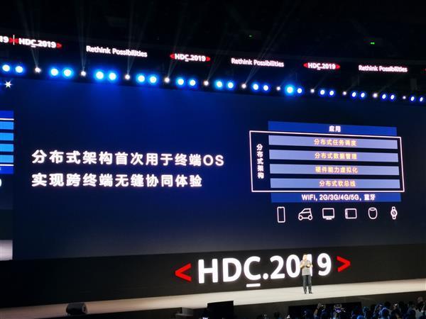 华为鸿蒙OS操作系统正式发布的照片 - 4