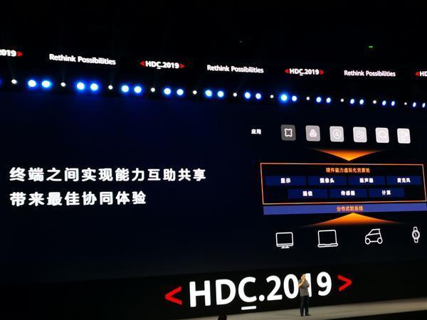 华为鸿蒙OS操作系统正式发布的照片 - 6