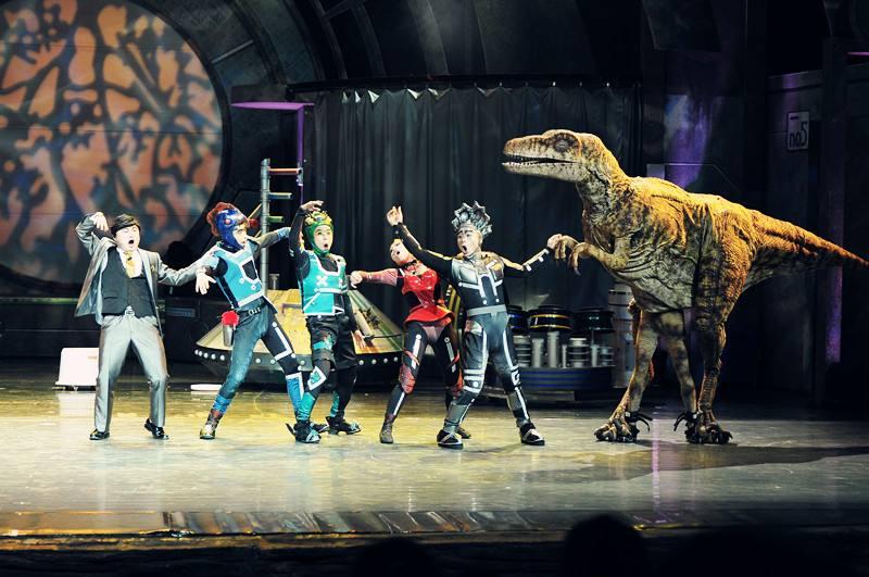 常州恐龙园:带你了解不一样的常州中华恐龙园~