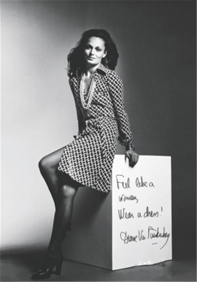 dvf裹身裙腰带系法图解(dvf裹身裙穿出好身材)