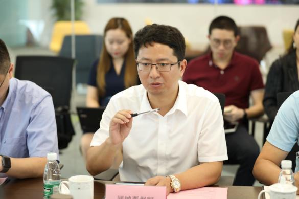 南京市副市长冉华一行到同城票据网调研指导工作