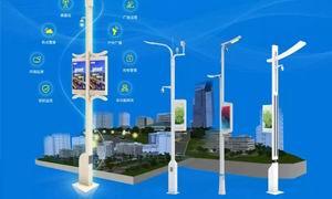 解剖智慧路灯,顺舟智能舟山市公园智慧路灯项目案例分享