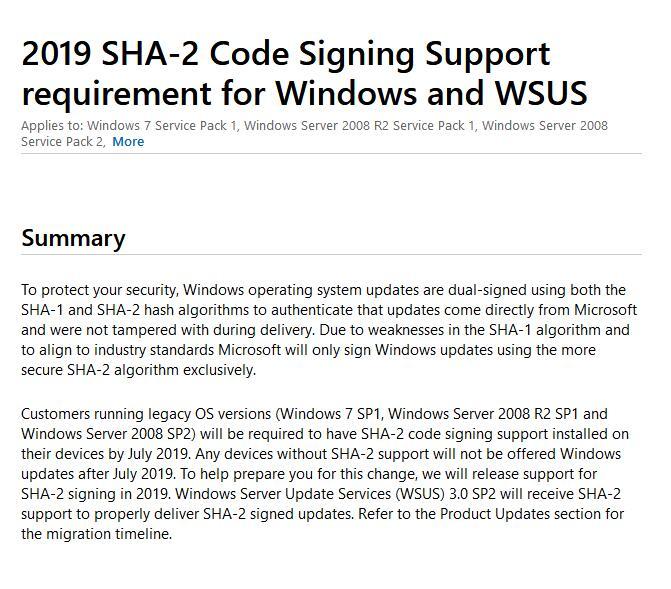 微软已阻止装有不兼容杀毒软件的Win7设备安装更新的照片 - 2