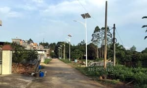 集泰照明新农村太阳能路灯案例展示