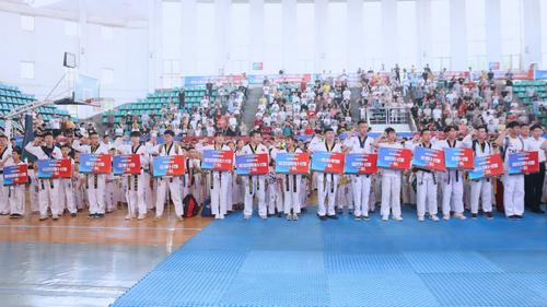 2019年湖南省聚英跆拳道第八届大型晋级考试圆满落幕-中国传真