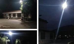 西峡县军马河镇:太阳能路灯照亮乡村脱贫路