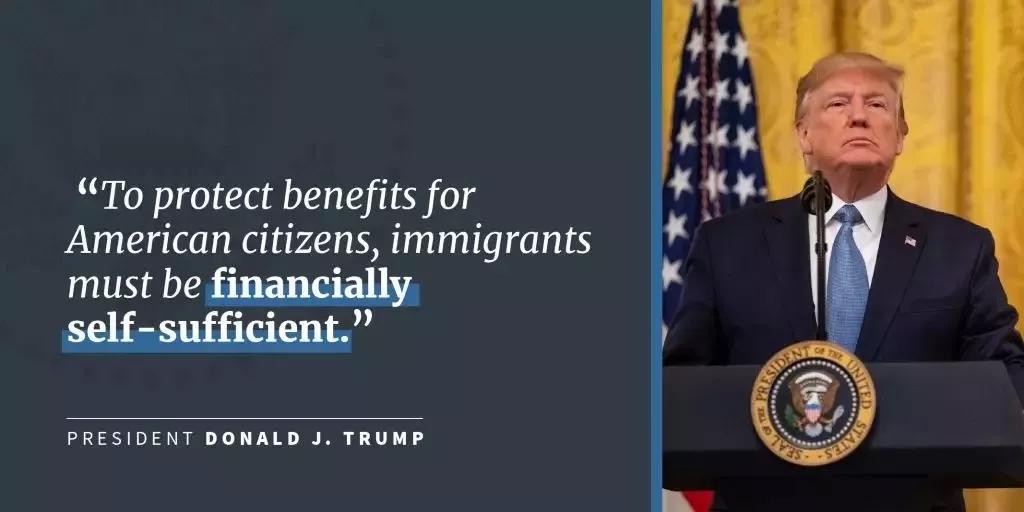 """重磅!川普政府发""""公共负担""""新规严限合法移民,影响几何?"""