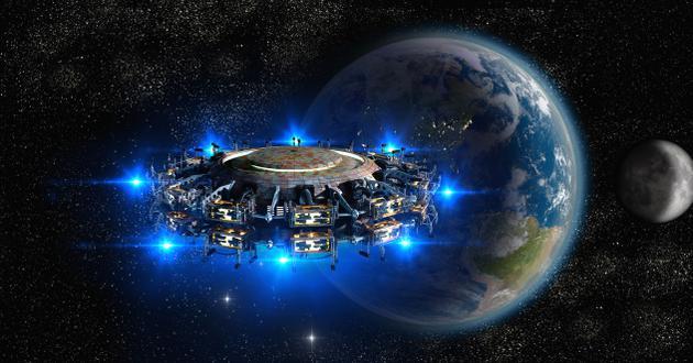 10个关于人类并非起源于地球的奇怪论点的照片 - 10
