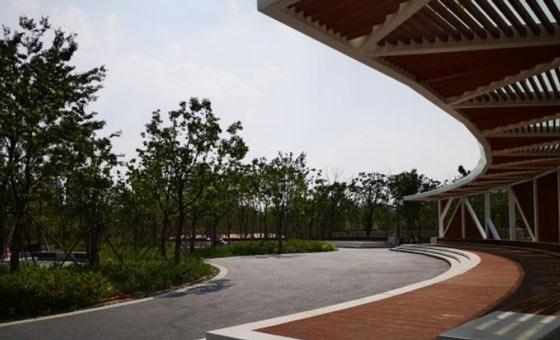 新北区三江口公园一期建成对外开放(组图)