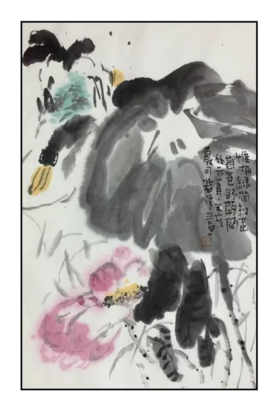 得实彩 淡虚华――大写意花鸟画家李若清