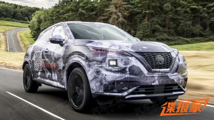 日产发布全新JUKE车型谍照 将于9月3日首发